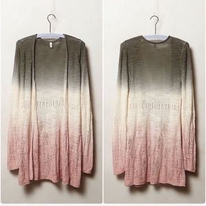 Anthropologie Moth | Tonal Tides Ombré pink gray